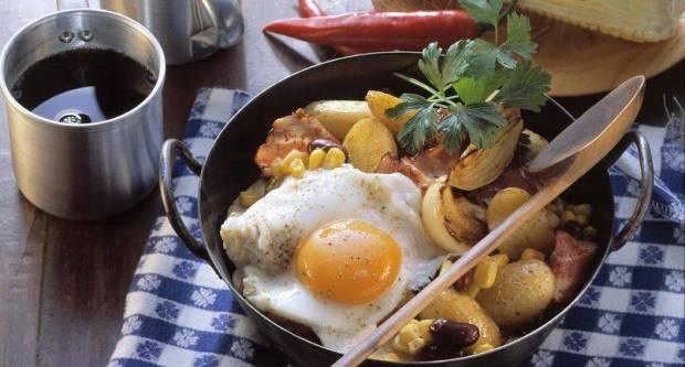 Španjolski krumpir siromaha: Jednostavan recept za ukusan ručak s jajima