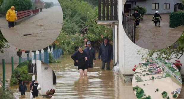 Velike poplave na našičkom području, sve službe na terenu