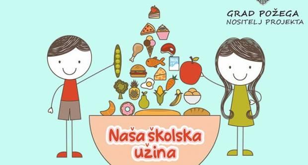 NAŠA ŠKOLSKA UŽINA Uspješno završena druga faza projekta podjele obroka u požeškim osnovnim školama