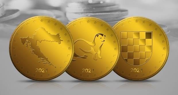 Hrvatska odabrala motive za kovanice eura