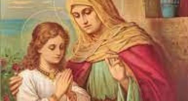 Danas je blagdan sv. Ane, majke Blažene Djevice Marije