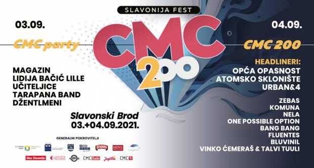 Poznati svi izvođači CMC 200 Slavonija festa