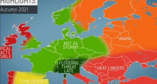 AccuWeather objavio prognozu za jesen: Vrućine će u našim krajevima potrajati i nakon ljeta