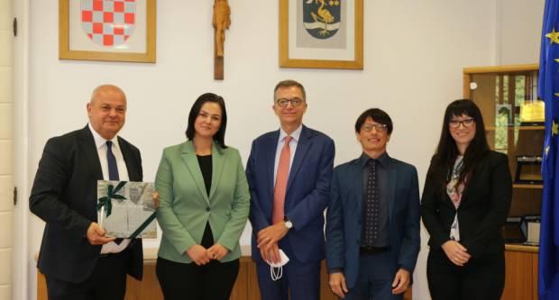 Danas kod Duspare veleposlanik Italije u Republici Hrvatskoj