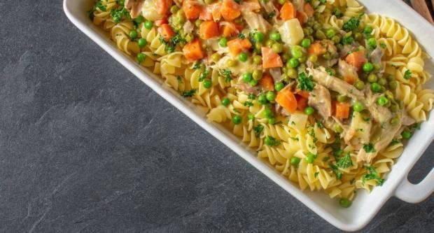 Recept iz snova za najkremastiju tjesteninu s piletinom i povrćem iz jednog lonca