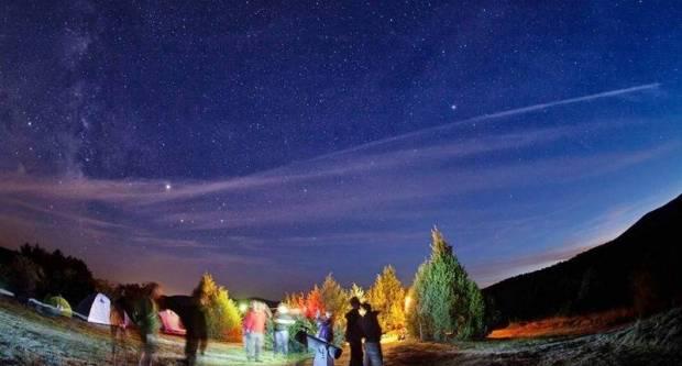 Astro party- spektakl zvijezda padalica na noćnom nebu iznad Papuka