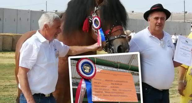 Uzgajivač konja iz Prekopakre u Gudovcu na sajmu osvojio 3. mjesto