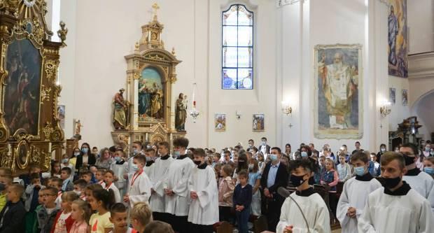 Zaziv Duha Svetoga za učenike katoličkih škola u Požegi