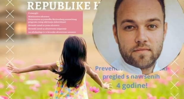 Požežanin sa zagrebačkom adresom dr. Leon Marković aktivno sudjeluje u kampanji povodom Nacionalnog dana ambliopije