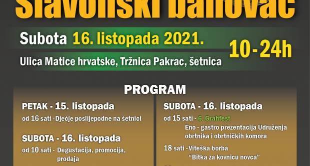 """12. sajam """"SLAVONSKI BANOVAC"""" u Pakracu"""
