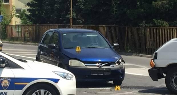 Jučer lakša prometna nesreća u Požegi