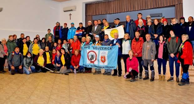 HPD Gojzerica Požega organizirala prvi planinarski pohod u spomen na hrvatske velikane