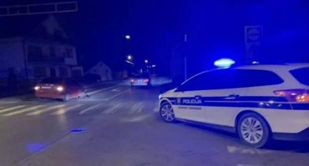 SINOĆ INCIDENT: Nekoliko osoba na terasi pilo piće, došla je policija