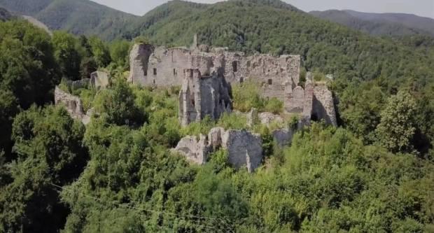 Ružica grad kao primjer srednjeg vijeka u PP Papuk