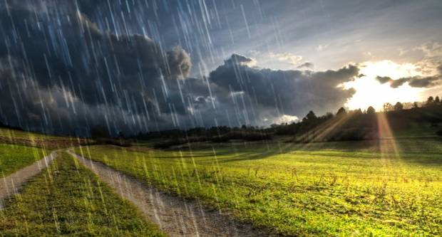 Danas moguća kiša i pljuskovi praćenim grmljavinom