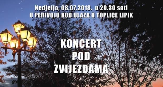 Koncert pod zvijezdama u Lipiku