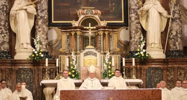 21. obljetnica utemeljenja Požeške biskupije i imenovanje njezina prvog biskupa