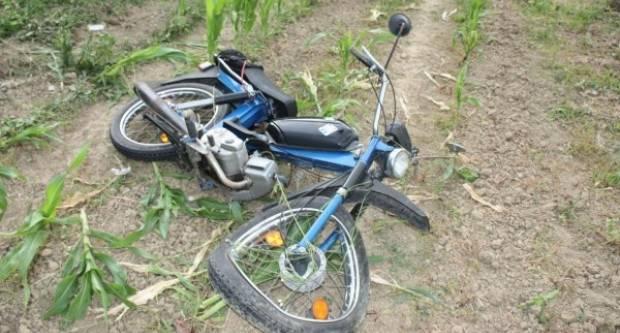 Pijani mopedist jučer sletio s kolnika i lakše se ozlijedio