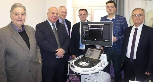 Otvorena UZV ambulanta i prezentirana nova usluga - UZV fizijatrijske dijagnostike