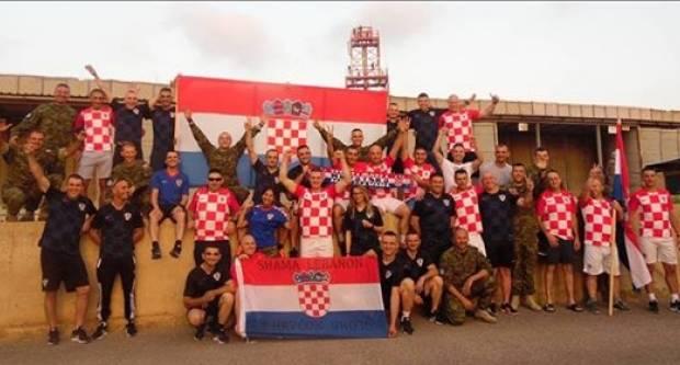 Naši Požežani u Libanonu navijaju za Vatrene