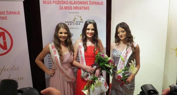 Ivona Zednik nova je Miss Požeško - slavonske županije