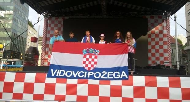 FOTO: Vidovčani na dočeku Vatrenih u Zagrebu, 16.7.2018.