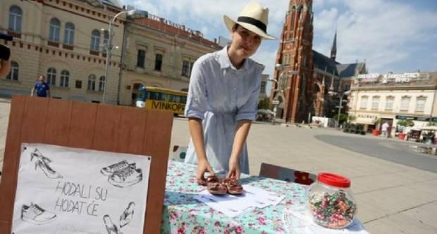 Studentica će izraditi spomenik od cipela iseljenih građana