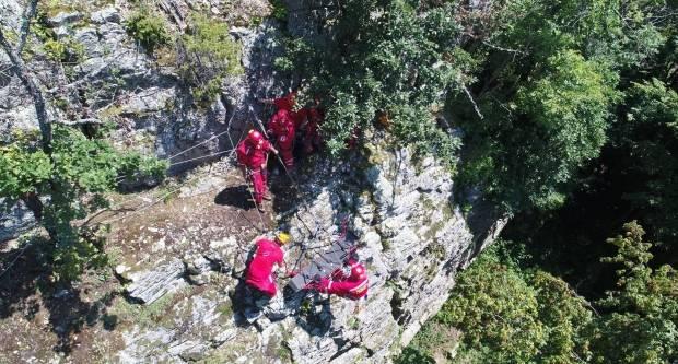 12 članova HGSS-a u stijenskom spašavanju u PP Papuk