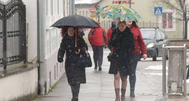 Snježna šetnja Požegom 24.02.2018.