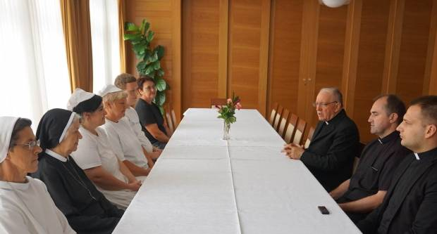 Biskup predstavio novog ravnatelja Svećeničkog doma