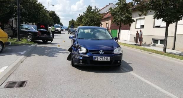 Prometna nesreća u Ulici Sv. Roka u Požegi