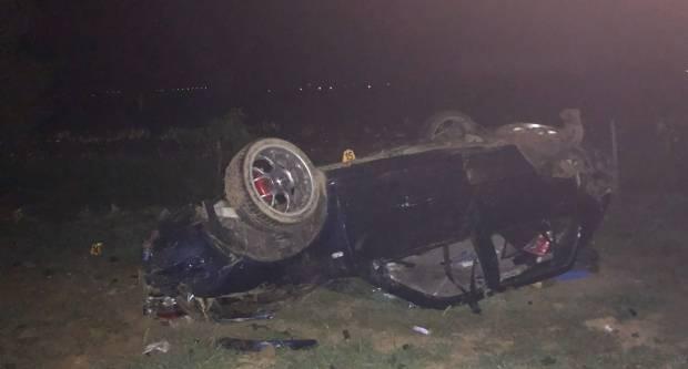 Teška prometna kod Vetova, sudjelovala 3 automobila i 3 osobe teže ozlijeđene