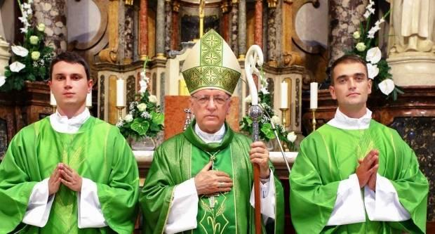 Đakonsko ređenje u požeškoj Katedrali