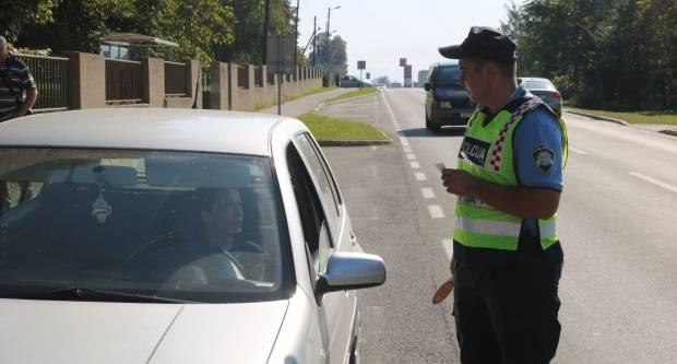Pojačane aktivnosti nadzora prometa tijekom vikenda