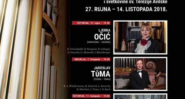 Orguljaške večeri u požeškoj katedrali