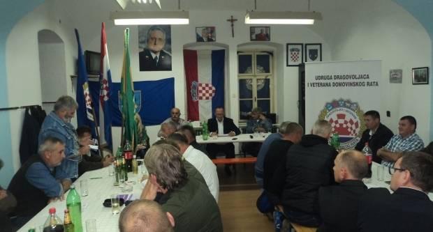 Izvještajni sabor Udruge dragovoljaca i veterana Domovinskog rata podružnice Požeško-slavonske županije u Brestovcu