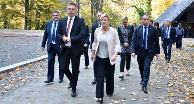Predsjednica Kolinda Grabar-Kitarović oduševljena ljepotama Parka prirode Papuk
