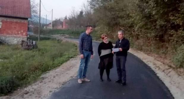 Radovi pri kraju: Asfaltirana cesta u Branešcima