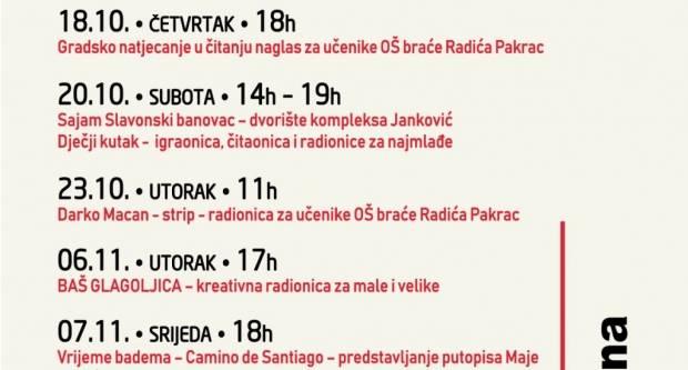 Gradska knjižnica Pakrac: Glagoljica-tema Mjeseca hrvatske knjige