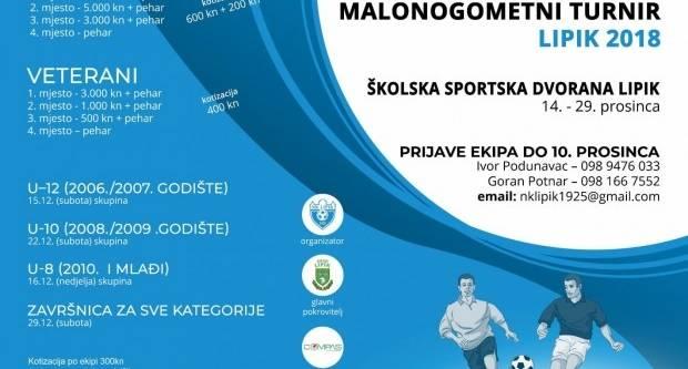16. Božićni malonogometni turnir Lipik 2018.