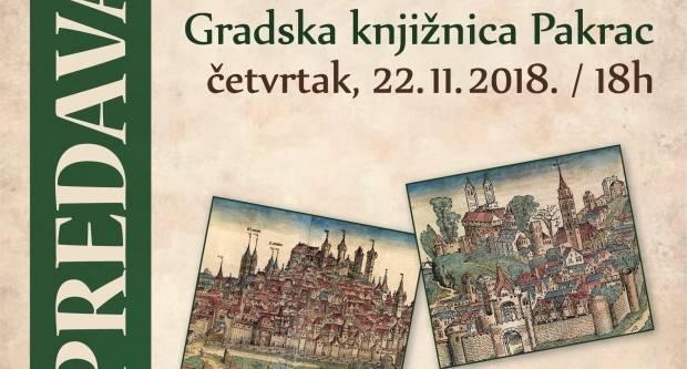 22. studenog: Predavanje poznatog povjesničara i publicista Zdenka Samaržije