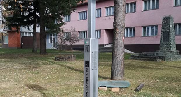 Postavljena je ciklo stanica na Trgu bana Jelačića u Velikoj