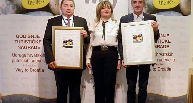 Dodijeljene prestižne nacionalne turističke nagrade za 2018. godinu