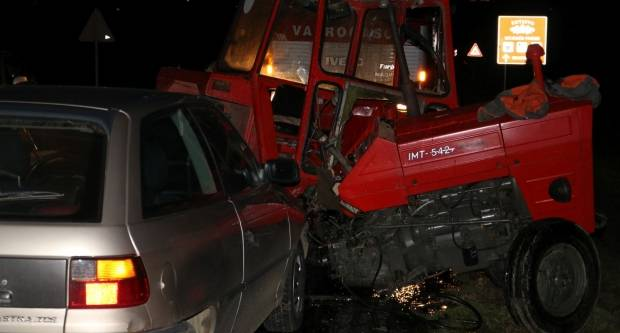 Za jučerašnju prometnu između Svetinje i Jakšića kriv 80-godišnjak, vozač traktora lakše ozlijeđen