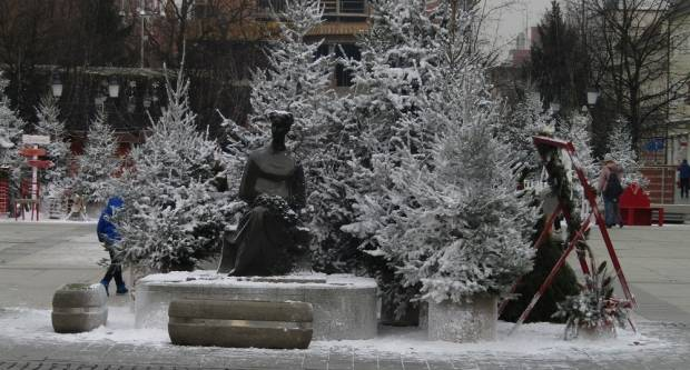 Božićna idila u Slavonskom Brodu