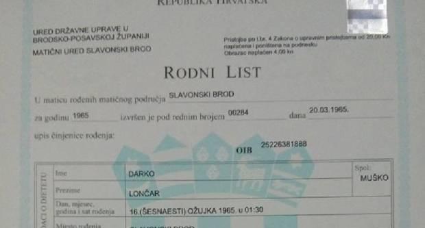 RODNI LIST; Zašto nam je zabranjena naša nacionalnost, da se izjašnjavamo kao Hrvati?