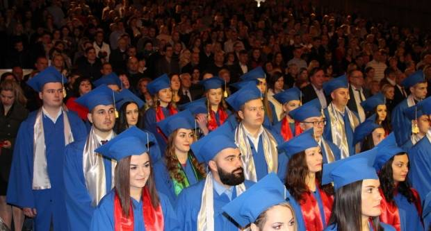 Održana svečana promocija promovenata Veleučilišta u Slavonskom Brodu