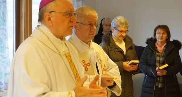 Biskup posjetio prognaničko naselje Kovačevac