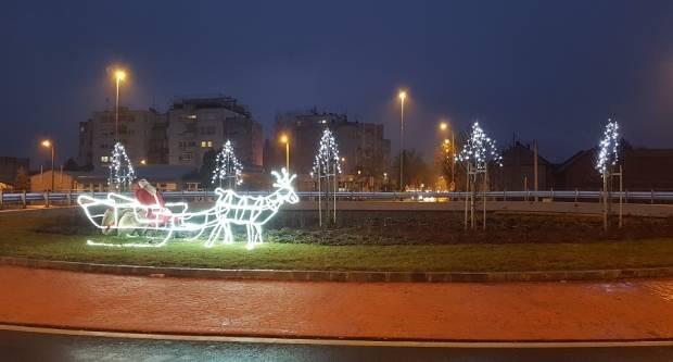 Kružni tokovi u božićnom ruhu