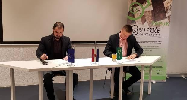 Potpisan ugovor o izgradnji Geo info centra u Voćinu i adaptaciji dvorana u Kući Panonskog mora u Velikoj